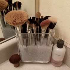A Great way to store brushes!