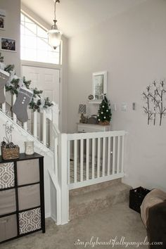 Superior A Better Solution For The Bottom Of The Stairs? Simply Beautiful By Angela:  DIY Baby Gate