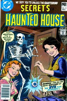 Pencil Ink comic book artists blog 1950s 1960s 1970s 1980s ...   pencilink.blogspot.com-900 × 1361-Search by image Secrets of Haunted House #19 - Alex Nino art