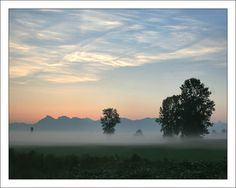 Sumas Mist, a photo from British Columbia, Western Fraser Valley, British Columbia, Mists, North America, Westerns, Things To Do, Canada, Clay, Sunset