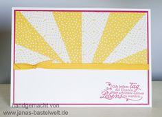 "Janas Bastelwelt - Unabhängige Stampin' Up! Demonstratorin: MMC: Thema ""Sonne"""