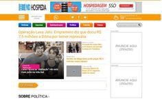 Portal de notícias PHP 100% funcional - Grátis Designmp.Net