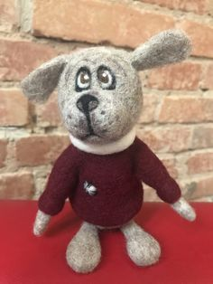 Needle Felted Soft Sculpture Gifts by Felt Gifts, Felt Dogs, Quirky Gifts, Soft Sculpture, New Shop, Needle Felting, Gifts For Friends, Hedgehog, Dinosaur Stuffed Animal