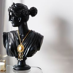 We're embracing our extra side in 2019 with modern bathroom ideas with a slightly extra, diva twist. Modern Bathroom, Bathroom Ideas, Sculpture, Statue, Foyer, Yup, Necklaces, Inspiration, Sweet