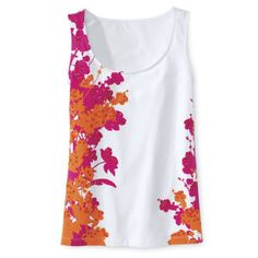 Floral Spray Top - Womens Clothing, Jewelry, Fashion Accessories and Gifts for Women with a Flair of the Outdoors   NorthStyle
