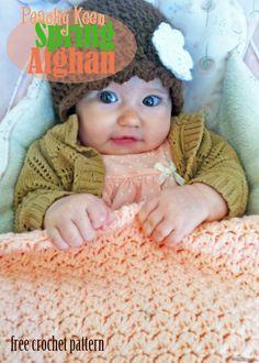 Free Crochet Pattern - Spring Baby Afghan