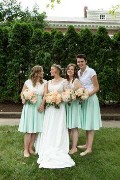 Bridal party portraits: bridesmaids   BURTco Studios #ahorneradventure #wedding