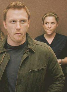 Greys Anatomy - Owen Hunt - Kevin McKidd - Arizona Robbins - Jessica Capshaw