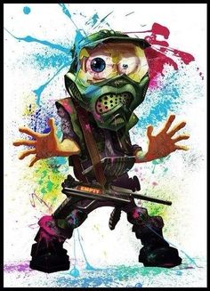 Paintball Art on Pinterest | 84 Pins