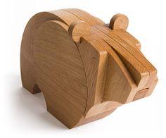 #wooden #toy #ecotoy #natural #design #modular #bear  #wodibow