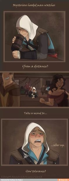 Drunk assassin