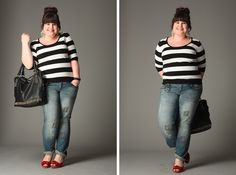 "Bonprix Plus Size Design Camp | ""After"" Pictures {What I Wore}"
