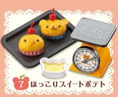 Strapya World : Re-Ment San-X Rilakkuma Home Made Dishes Petite Figure【Toys】#7