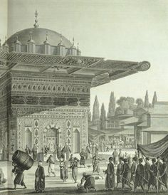 This stunning collection of engravings offers some of the earliest interior views of the sultan's palaces as well as a very intimate portrait of Ottoman society. Melling's view offer a sweeping scale of Constantinople and its rivers and seas. Melling's keen eye for architectural beauty is evident throughout, my favourite being his detail in the Fontaine de Tophane