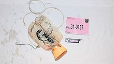 Oxygen mask found on a passenger of MH17
