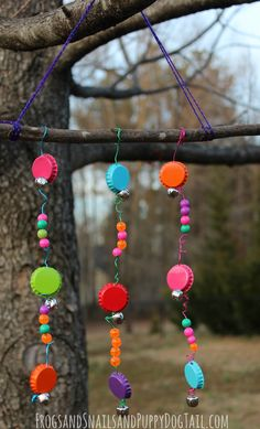 Bottle Cap Wind Chime - FSPDT