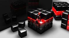 1600x900 3D Wallpaper - WallpaperSafari