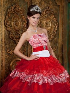 Red ball gowns with sleeves 2016-2017 » B2B Fashion