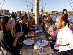 Pollux, drinks or dinner on board a beautiful ship at NDSM in Amsterdam Noord. Kid friendly