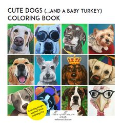 My new coloring book is now available for purchase on Amazon! Great size for the kids, or the big kid in you!
