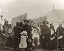 BUFFALO BILL CODY AND INDIANS | Near Penzance, Cornwall: 'Lord St. Levan's grandchildren are next to Bill.'     ✫ღ⊰n
