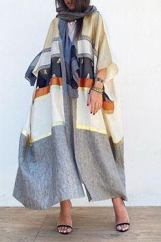Abaya Fashion, Muslim Fashion, Modest Fashion, Couture Fashion, Fashion Outfits, Mode Abaya, Mode Hijab, Modest Wear, Modest Dresses