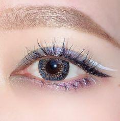 Kiss Makeup, Face Makeup, Korean Makeup Tips, Ulzzang Makeup, Makeup Eye Looks, Colorful Eye Makeup, Aesthetic Makeup, Eye Make Up, Makeup Inspiration