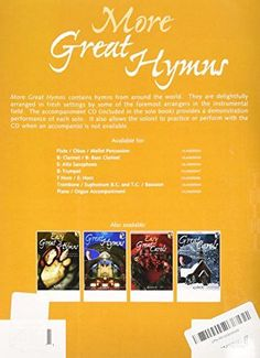 More Great Hymns: Trumpet (Curnow Play-Along Book)