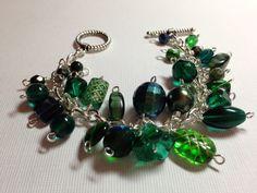 Dark Forest Cha Cha Bracelet from Littlebitofjess Jewelry for $15.00