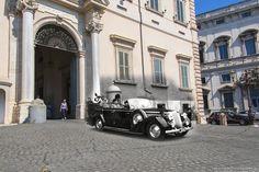 Adolf Hitler in visita ufficiale a Roma.