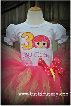 La La Loopsy Tutu Birthday Outfit. $58.99, via Etsy.