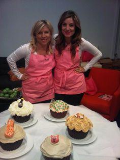 DC Cupcake Girls, Sophie LaMontagne and Katherine Kallinis