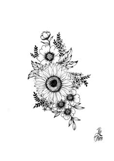 Simplistic Tattoos, Unique Tattoos, Small Tattoos, Dream Tattoos, Future Tattoos, Body Art Tattoos, Tatoos, Floral Tattoo Design, Flower Tattoo Designs