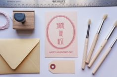 For your sweetie: You're the Best Valentine's Day Card by dodeline