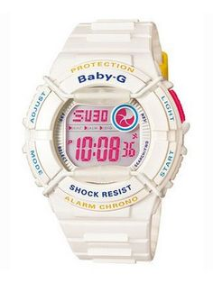 871292b0971 48% off on Casio Baby-G Chronograph Alarm Sports BGD-120P-7ADR.  creationwatches.com