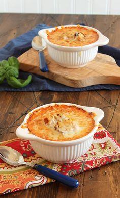 Cheesy Baked Tomato Bisque | The Suburban Soapbox #tomato #soup #recipe