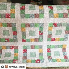 Simple Sixteen Quilt Pattern