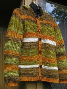 Suomenlampaanvillasta tehty villatakki, ompelin alle fleecetakin ja on lämmin!!