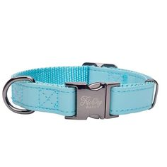 Capri in Gunmetal Designer Dog Collars, Pet Tags, Turquoise Color, Dog Harness, Clothing Items, Fur Babies, Two By Two, Capri, Glamour