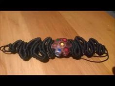 Macramé pulsera Jewellery macramé 1Lapices