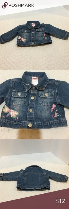 Nanette Dragonfly Jean Jacket Adorable jacket. Let me know if you have any questions. Bundle #54 Nanette Baby Jackets & Coats Jean Jackets