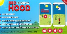 Red Riding Hood - Twitter / FB score post - InApp facebook page like - http://codeholder.net/item/mobile/red-riding-hood-twitter