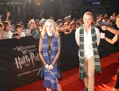 Photos of Tom Felton at the Opening of The Wizarding World of Harry Potter Japan