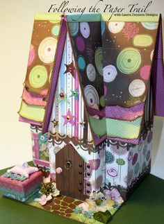 Laura Denison as Following the Paper Trail - Tooth Fairy House - Sept 2013