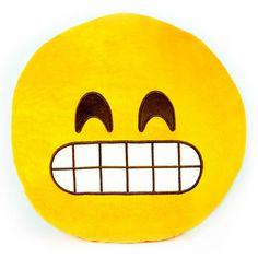 Grin Emoji Pillows – Throwboy