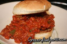 Sloppy Joes, dirt cheap dinners Frugal Recipes, Cheap Recipes, Frugal Meals, Budget Meals, Beef Recipes, Cooking Recipes, Super Cheap Meals, Dirt Cheap Meals, Cheap Dinners
