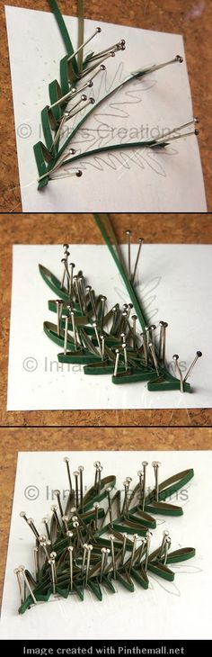 (Part 2 of 2)---written instructions on post---http://increations.blogspot.com/2009/09/quilled-poppies-step-by-step-part-3.html