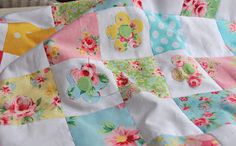 Helen Philipps: February 2012 ....a bit more patchwork....this is a peek at a new quilt i've been slowly working on over the last few months...it will have more applique and some colourful quilting..
