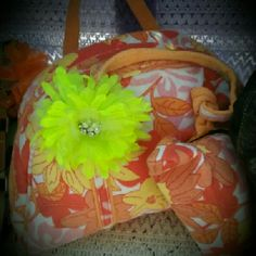 Summer Bag Soft floral with makeup bag attached Bags Cosmetic Bags & Cases