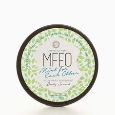 tired legs and feet ? Try our Mint For Each Other Body Scrub and get invigorated  | Perfectly Posh www.poshmt.com